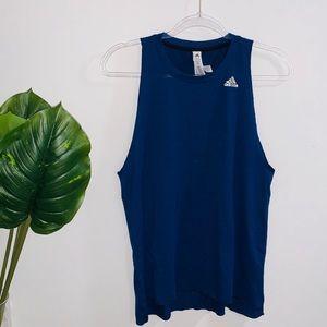 🔥 Adidas Navy Blue Tank Top
